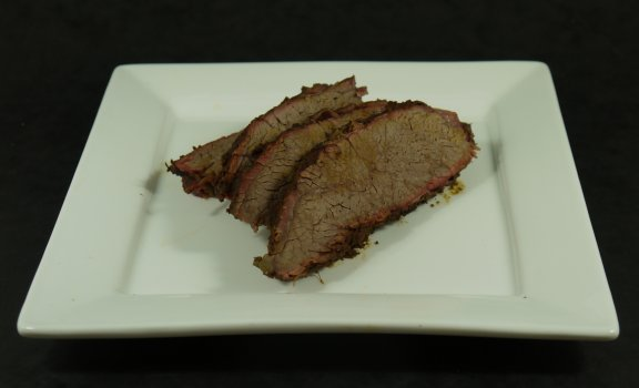 Brisket Plated up